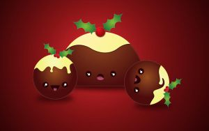 Cutemas Puddings by wildfia