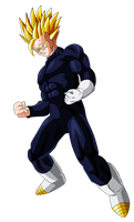 Gohan Super Saiyan 2 (adult) by OriginalSuperSaiyan