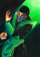 Mortal Kombat: The Movie - Reptile by Shiranui94