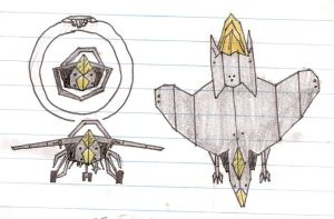 StarGate advanced fighter by Itsomi