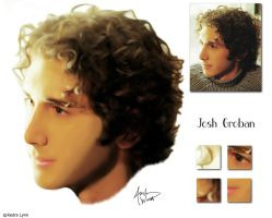 Josh Groban - Digital Painting by kedralynn
