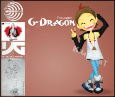 Bigbang: G-Dragon by pyroKhad
