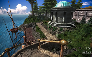realMyst Masterpiece edition (wallpaper edit) by LordXidiin