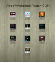 Video Websites Player ICON by ZFreet