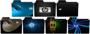 HP Folder Icon Pack by SmokeU