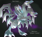 Shiny Mega Tyreigzor by Visoris
