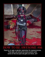 How to be Awesome 6 by Songue