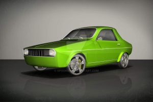 Renault 12 l Dacia 1300 Coup_2 by spoon334