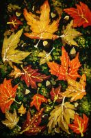Leaf Pattern by raelea