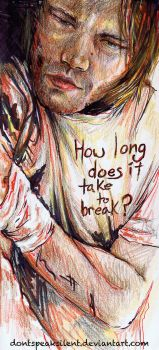 How long does it take to break? - Sam Winchester by DontSpeakSilent