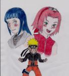 Two hearts beat for Naruto by MangaFreak17
