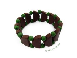 Commissioned polymer bracelet by juditithil