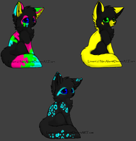 Fox adoptables :OPEN: by Jamie901