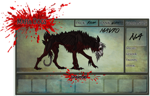 Mavro for Mafia Dogs by Gutter-Mutt