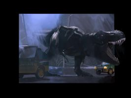 Jurassic Park 3D Tribute by IronWarrior777