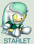 Sonic Plushie Collection: Starlet by WingedHippocampus