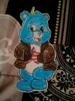 Care Bear 'Merica! X3 by EuroPrincess