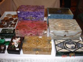 Jewelry Boxes by MarinaMoon