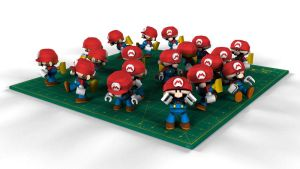 Mini Mario Toy 3D by Dil1880