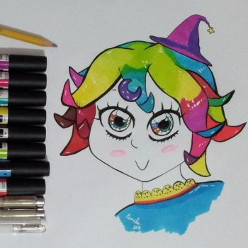 Color Witch by RadioactiveCami