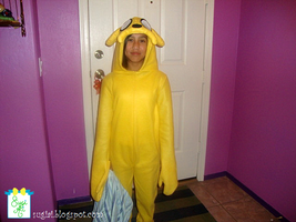 Adventure Time Jake Costume by SugiAi