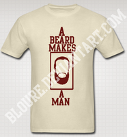 Beard T-Shirt by bloure