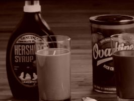 Hersheys and Ovaltine by waffle-take-over