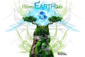 Celebrating Earth Day by draghubir