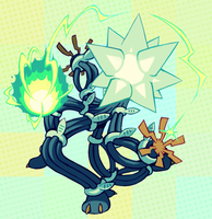 zap cannon by extyrannomon