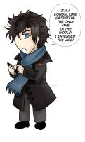Consulting Detective by Yunuyei