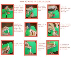 Edible Candle Tutorial by mindfire3927