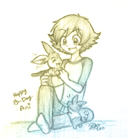 Happy B-day Ami by firehorse6