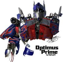 Optimus Prime MS Paint - step2 by RyGuy52