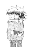 I Love You, Murdoc.. by Shinohida