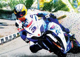 Guy Martin - TT Racer by kitster29