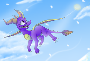 Cold Flight by IcelectricSpyro