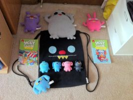 My Ugly Doll Collection by Penguinanthrogirl99