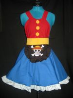 Monkey D. Luffy Cosplay Pinafore by DarlingArmy