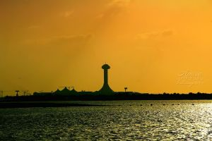 Marina mall from Abu Dhabi Corniche by amirajuli