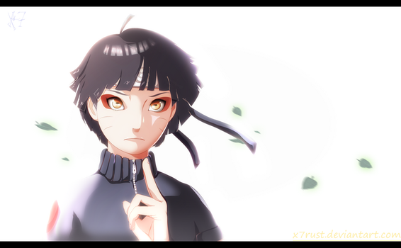 Naruto The Last -  Himawari by X7Rust