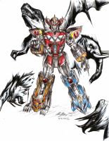 WE NEED MEGAZORD POWER, NOW! by RyouKazehara