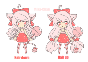 New oc-Mika-chan by Chibii-chii