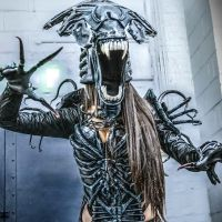 Alien Queen Armour Cosplay by Beaupeep101