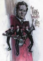 Brian Epstein and Beatles painting by Andrew-Robinson