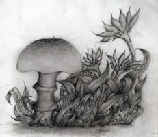 the unfinished shroom by tj6795