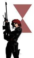 Black Widow by brianlaborada