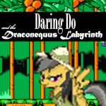 Daring Do and the Draconequus Labyrinth by cowboywolfmanboy