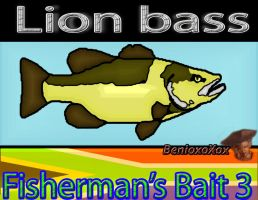 Lion Bass from Big ol' bass fisherman's bait 3 by BenioxoXox