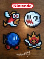 Super Mario Characters by RockerDragonfly
