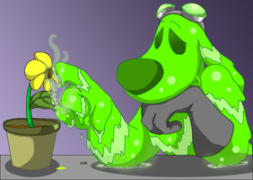 Toxic: Stay Away by FlytrapDog